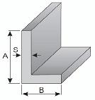Boční krycí lišta L 20×50 mm, nebo jiný rozměr